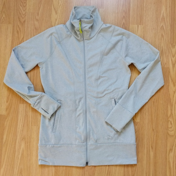 L.L. Bean Jackets & Blazers - LL Bean Stretch Running Exercise Jacket Small